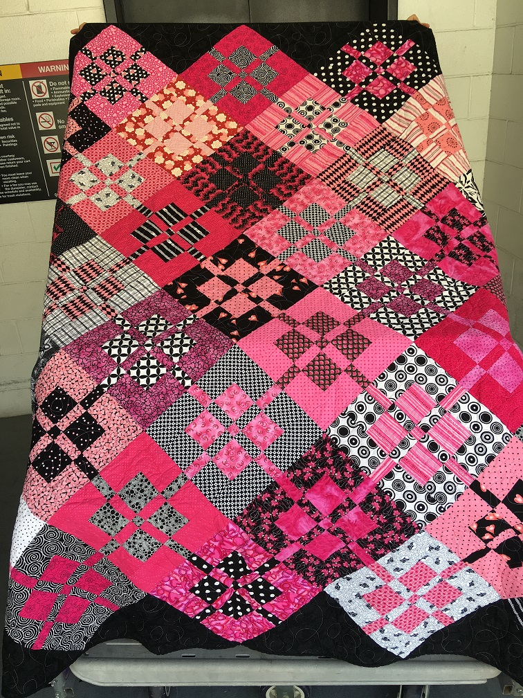 Pink Twin Quilt