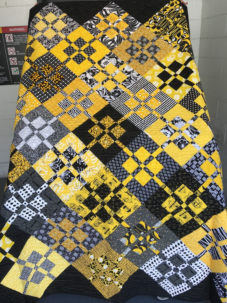 Yellow Twin Quilt
